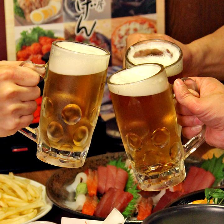 武蔵浦和にある単品飲み放題がある居酒屋【いちげん 武蔵浦和店】